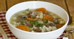 Шотландский суп из баранины