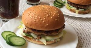 Домашний бургер за 30 минут