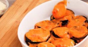 Запеченные баклажаны с помидорами и сыром по-итальянски