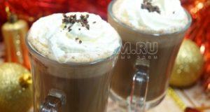 Рождественское какао со сливками