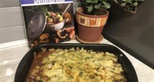 Запеченная говядина с овощами и элем
