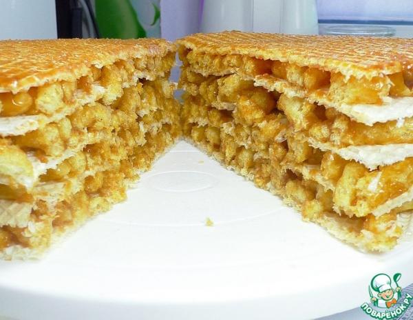 Торт без выпечки без печенья