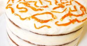 Морковный торт-кусочек счастья