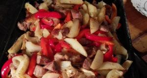 Жаркое из свинины и овощей