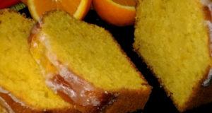 Яркий апельсиновый кекс
