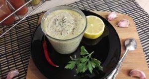 Сливочно-лимонный соус