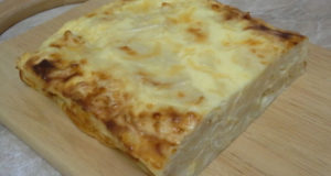 Быстрый пирог из лаваша с сыром