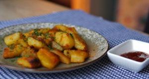 Хрустящий пикантный картофель