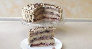 Торт-пляцок Клубничная фвнтазия