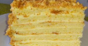 """Торт творожный """"Наполеон"""""""