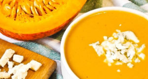 Суп-пюре из тыквы с сыром дор-блю