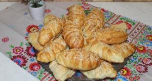 Пирожки с творожной начинкой