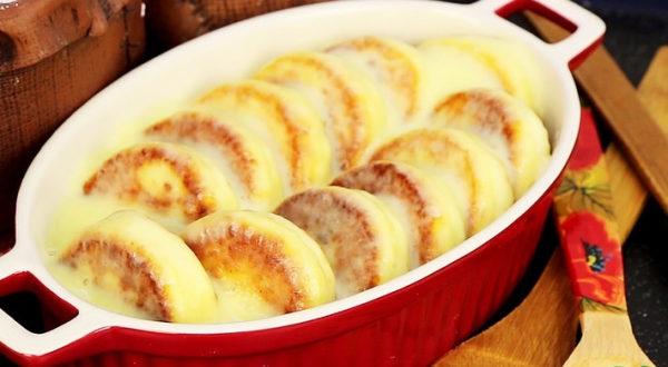 Сырники под нежным соусом