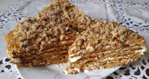 Торт Медовик традиционный, самый лучший и правильный рецепт