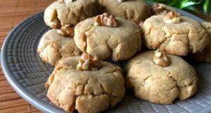 Постное песочное печенье