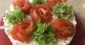Салат « Новогодний букет»