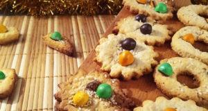 Песочное печенье на новогодний стол