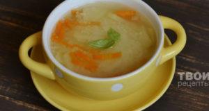 Суп с курицей и кускусом