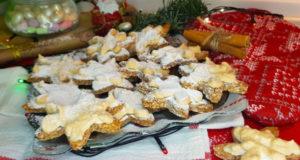 Миндальное печенье с меренгой
