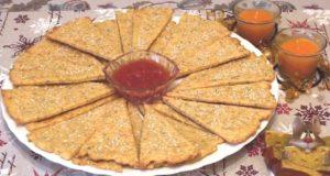 Закусочные сырные треугольнички