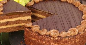 Шоколадный торт Пражский