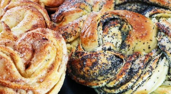 Быстрые дрожжевые булочки, мягкие, вкусные
