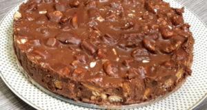 """""""Шоколадное безумие"""" торт без выпечки"""