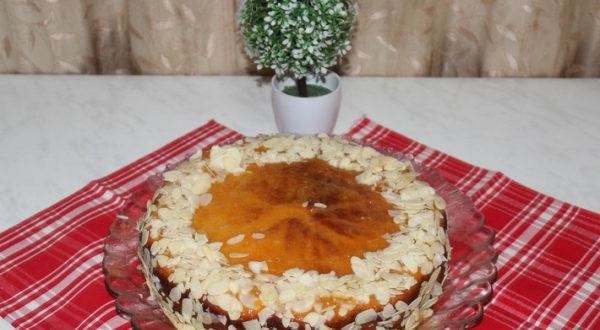 Быстрый кефирный пирог