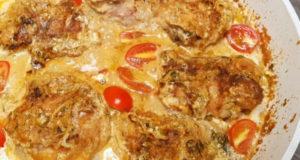 Сочная курица в сметанном соусе