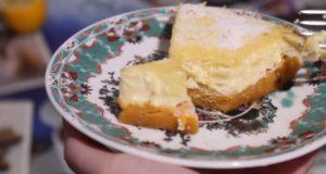 Диетический тыквенно-лимонный чизкейк