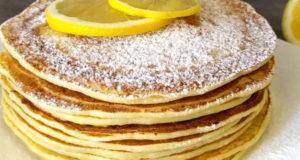 Творожно лимонные блинчики