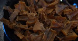 Сухофрукты из тыквы к чаю