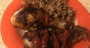 Ужин без хлопот курица с гречкой