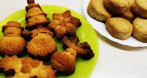 Рассыпчатое песочное печенье на смальце