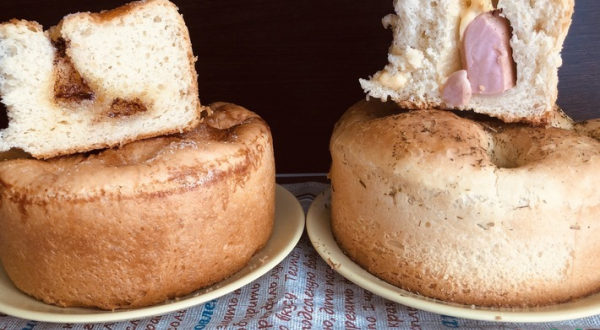 Два пирога Сахарный и Сырный