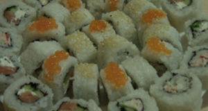 Суши роллы с начинками