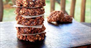 Овсяное печенье без выпечки
