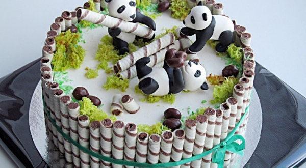 Торт Панды