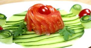 Праздничная овощная нарезка