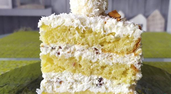 Невероятно нежный торт Рафаэлло