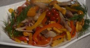 Салат закусочный Сельдь с грибами