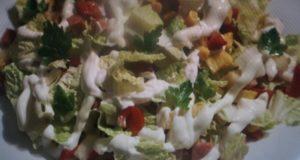 Пикантный салат Юлия