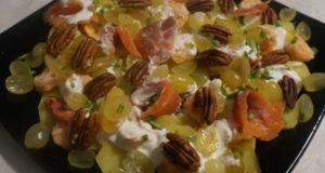 Салат с морепродуктами на праздничный стол