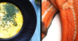 Финский суп с сёмгой