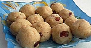 Рава ладду индийские сладости из манной крупы