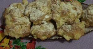 Воздушное яблочное печенье Шарлотка