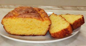 Сырный хлеб без дрожжей