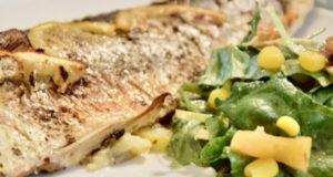 Запеченная рыба сибас в духовке