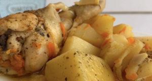 Курица с картошкой и имбирем в мультварке