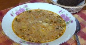 Куриный суп (пилешка чорба) 3